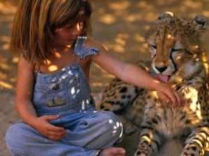 Tippi Degre: La niña Mowgli del siglo XX